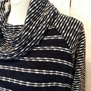 Dress Barn Sweaters - Cowl neck cinch side waist tie sweater -Dress bar